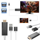 3 in 1 MHL USB to HDMI HD TV Adapter Cable for Samsung Galaxy S5/S6 Black/Gold
