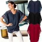 Plus Size Women's Loose Casual Shirts Short Sleeve Solid Elegant New Tops Blouse