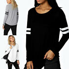 Fashion Women Long Sleeve Crew Neck Casual Hooded Tops Stylish New Tops Shirts