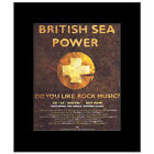 BRITISH SEA POWER - Do You Like Rock Music Matted Mi...
