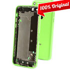 Apple iPhone 5C Back Cover Mid Frame Housing Battery Door Green 100% Original