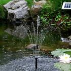 Sunspray Solar Fountain Water Feature for containers and ponds