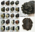 22 colors Short Curly Wavy claw clip ponytail hair pieces wig AF#E-945B
