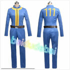 Fancy Online Game Fallout 3 Unisex Jumpsuit Cosplay Costume Outfit Full set