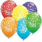 Confetti Dots 1x 28cm Balloon Birthday Party Supplies Decorations Blue Red Green