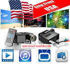 HD 1080P 3D LCD Home Theater Cinema Projector LED Multimedia LOT SE