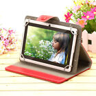 "iRulu 7"" Tablet PC 8GB Android 4.4 Quad Core Cam A33 1.5 GHz WIFI White w/Case"