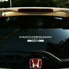 auto decals for windows - Adhesive Vinyl Earth Dream i-VTEC Car Sticker Auto Window Decal Emblem For Honda