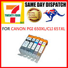 3x PGI 650XL/CLI 651XL Ink Cartridge for Canon MX726 MG7160 MG6460 MG6360 MG5560