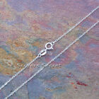 "925 Sterling Silver ITALIAN CABLE CHAIN 16"", 18, 20"", 24"" great for pendants"