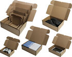 SHIPPING BOXES C5 A5 C4 A4 C3 A3 PACKAGING MOVING GIFT PARCEL BROWN CARDBOARD