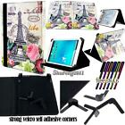 Folio Stand Leather Cover Case For Various Allview Viva 8 inch Tablet + STYLUS