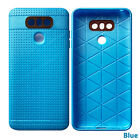 Textured Interior Grooves For Additional Shock Absorbent Protection For LG G6