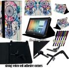Folio Stand Leather Cover Case For Various FUJITSU Stylistic Tablet + STYLUS