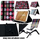 Folio Stand Leather Cover Case For HTC Flyer/EVO/Nexus/Jetstream Tablet+ STYLUS