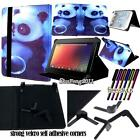 Folio Stand Leather Cover Case For Google Nexus 7 9 10 /Pixel C Tablet + STYLUS