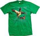 Ducks Bird Flying Spirt Animal Wilderness Outdoors Nature Mens T-shirt
