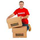 Cardboard Document Boxes Heavy Duty Archive Storage With Lid - Packs Available