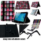 Folio Stand Leather Cover Case For Various AINOL Novo 8 9 10 Model Tablet+STYLUS
