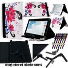 New Folio Stand Leather Cover Case For Various HP Slate Models Tablet + STYLUS