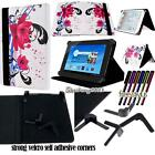New Folio Stand Leather Cover Case For Various Hisense Models Tablet + STYLUS