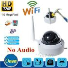 720P Wireless WIFI IP Camera ONVIF Security IR Night Vison Outdoor Vandal proof