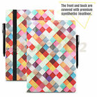 "Folio PU Leather Case Cover For Lenovo Yoga A12 HD 12.2"" Tablet +Glass Protector"