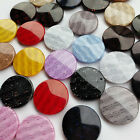 20pcs 15/22mm Plastic Button Overcoat Sewing Clothes Dress Buttons Craft Upick