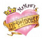 MaMaw Princess Tshirt Infant toddler Baby Shower Birthday Gift US Size youth