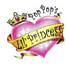 Pop-Pop Princess Tshirt Onesie infant toddler youth baby shower US size last one