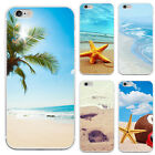 Beautiful Summer Beach Design Phone Case Cover for iPhone 7 Samsung S5 Novelty