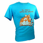 Tee Adult Unisex All I Need Is Coffee And Corgi Cute Puppy Funny T-Shirts