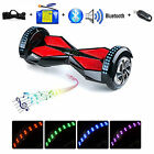 """8""""  Samsung Bluetooth Smart Balance Electric Scooter Wheel Hoverboard Hover LED"""