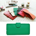 Fashion Lady Women Leather Clutch Wallet Long Card Holder Case Purse Handbag ER