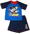 Mickey Mouse 'Oh Boy' Short Pyjamas. Ages 12-18,18-24 Months and 2-3,3-4 Years