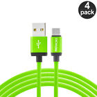 USB-C Type-C 3FT Charging Charger Cable 3 Feet [4-Pack] For Type C Phones
