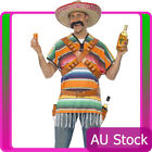 Mens Tequila Shooter Guy Mexican Costume Funnyside Funny Mexico Wild West Party