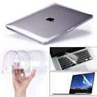 "Glossy Clear Hard Shell Case+keyboard Cover Macbook Air 11"" Pro 13/15"" Retina 12"