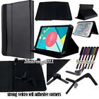 "Folio Stand Leather Cover Case For NEXTBOOK Ares/Flexx 7"" 8"" 10"" TABLET + STYLUS"