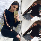 Fashion Women's Lady Summer Long Sleeve Loose Blouse Casual Shirt Tops T-Shirt
