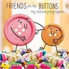GOGGLIES 3D MOVING EYES FUNNY FRIENDS ARE LIKE BUTTONS BIRTHDAY GREETING CARD