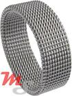 Womens Stainless Steel Mesh Ring Size 9 on SALE CLOSEOUT