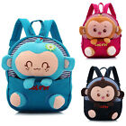 New Kids Boys Girls Animal Backpack Monkey School Bag Rucksack Children Backpack