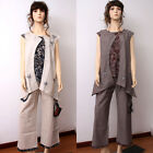 CX057 High Quality Casual Loose Fitting Dress 100% Cotton (Shirt Only No Pant)