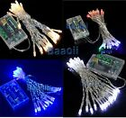 AA Battery Power LED String Fairy Party Festival Wedding Xmas Decor Light Lamp