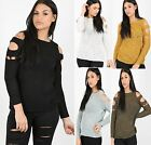 Ladies Womens Fine Knitted Oversized Baggy Sweater Dress Jumper Top Blouse