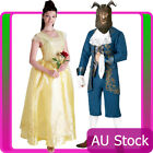 Licensed Disney Belle Princess Costume Prince Beauty And The Beast Fancy Dress