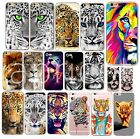 SOFT SILIKON iPHONE Motiv TIGER LÖWE TIERE SLIM HANDY CASE COVER SCHUTZ HÜLLE