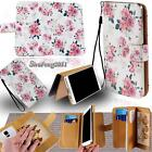 Leather Stand Flip Wallet Card Cover Phone Case For Various HTC SmartPhones