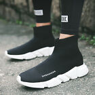Men's Fashion Sneakers Breathable Casual Soft Running Walking Shoes Slip on